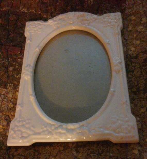 Cream Ceramic Picture Frame