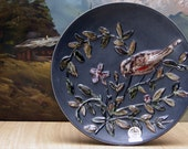 Rare fifties Ruscha Art wall dish