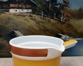 Swedish sauciere - gravy bowl from the Rorstrand Fokus series.