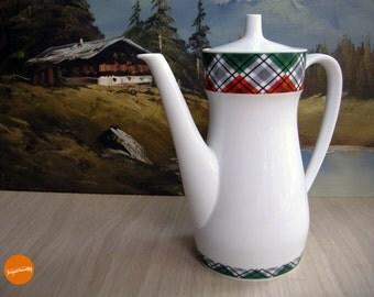 Funky seventies coffee pot from Johann Seltmann, Bavaria, Germany