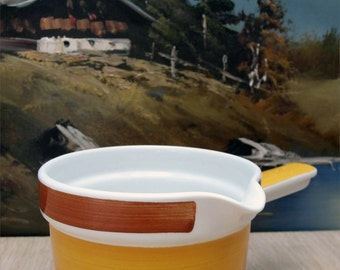 Swedish sauciere - gravy bowl from the Rorstrand Fokus series.