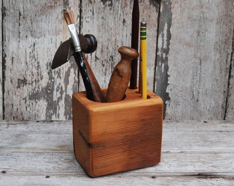 Small Desk Caddy by Peg and Awl