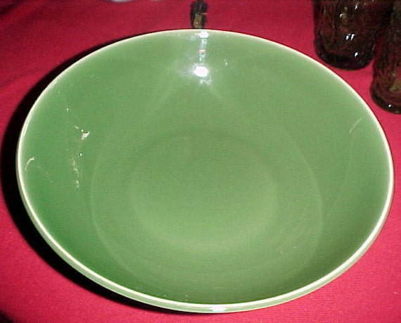 "Universal China Ballerina Forest Green 9"" Round Vegetable Bowl"