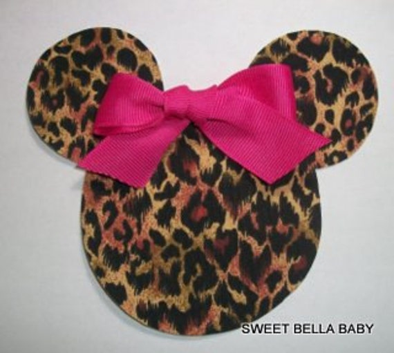 how to make leopard ears