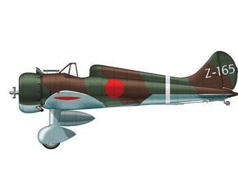 Bomber 16 Airplane Boy's Nursery Playroom Wall Art