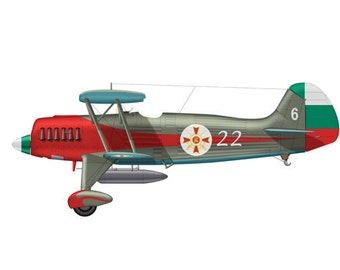 Bomber 17 Airplane Boy's Nursery Playroom Wall Art