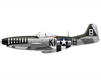 Bomber 19 Airplane Boy's Nursery Playroom Wall Art