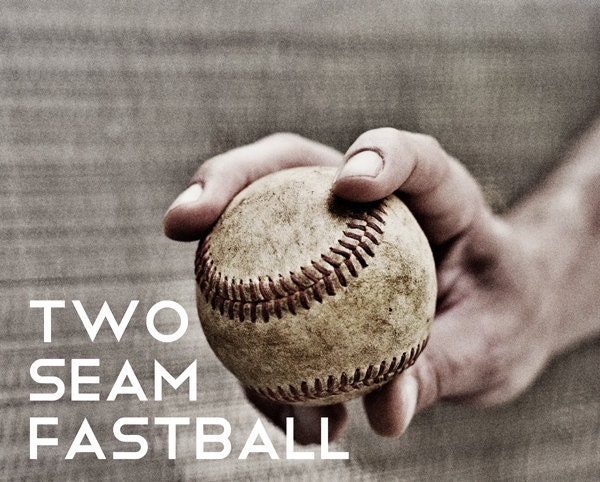 Two Seam Fastball Pitch Black Amp White Photo Baseball Pitches