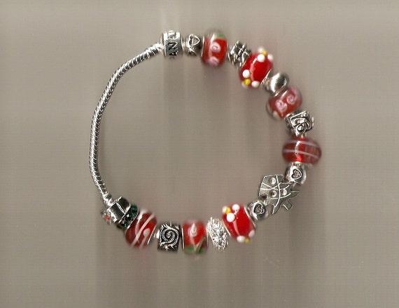 merry sterling silver pandora like bracelet 925