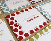 Modern Personalized Bookplates - Pick your Pattern