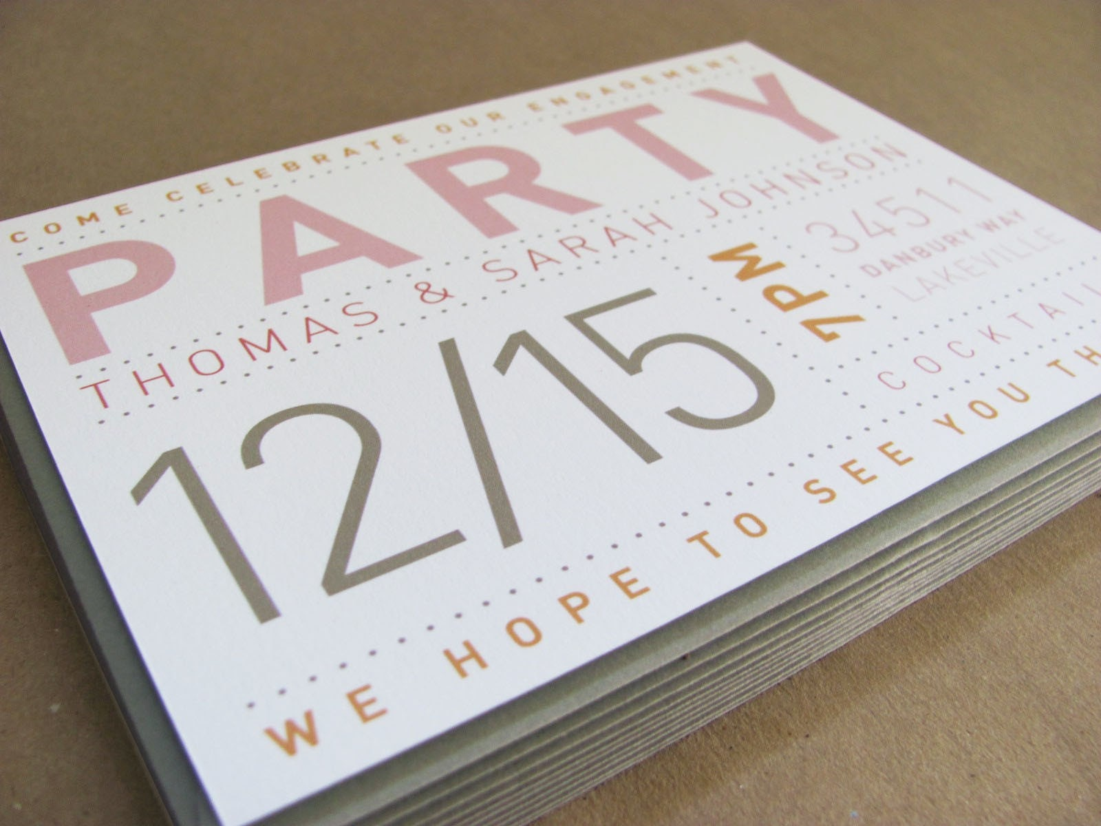 Housewarming Birthday Party Invitations for great invitation template