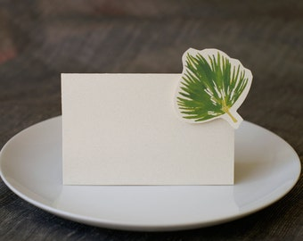 Fan Palm - Wedding Place Card - Gift Card - Table Number Card - Menu Card -weddings events
