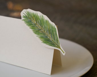 Date Palm - Wedding Place Card - Gift Card - Table Number Card - Menu Card -weddings events