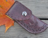 Leather Eagle Knife Sheath