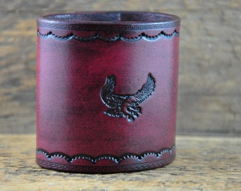 Leather Eagle Band SALE PRICED