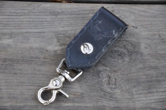 Leather Eagle Key Clip SALE