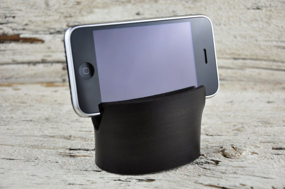 iPhone Smartphone Leather Stand
