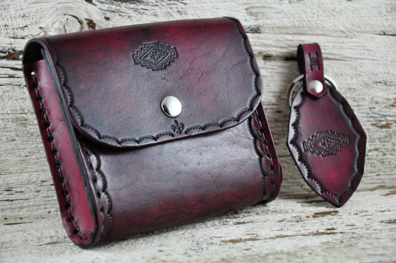 southwestern leather belt bag gift set sale