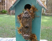 The Writer's Loft Shabby Chic Salvaged Birdhouse