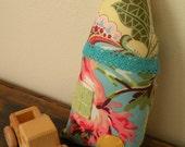 Handmade Cotton Plush Enchanted Fairytale Woodland Cottage Pillow