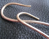 Solid Bronze Cable Needle Stitch Holder Set  - Fabulous Knitter gift