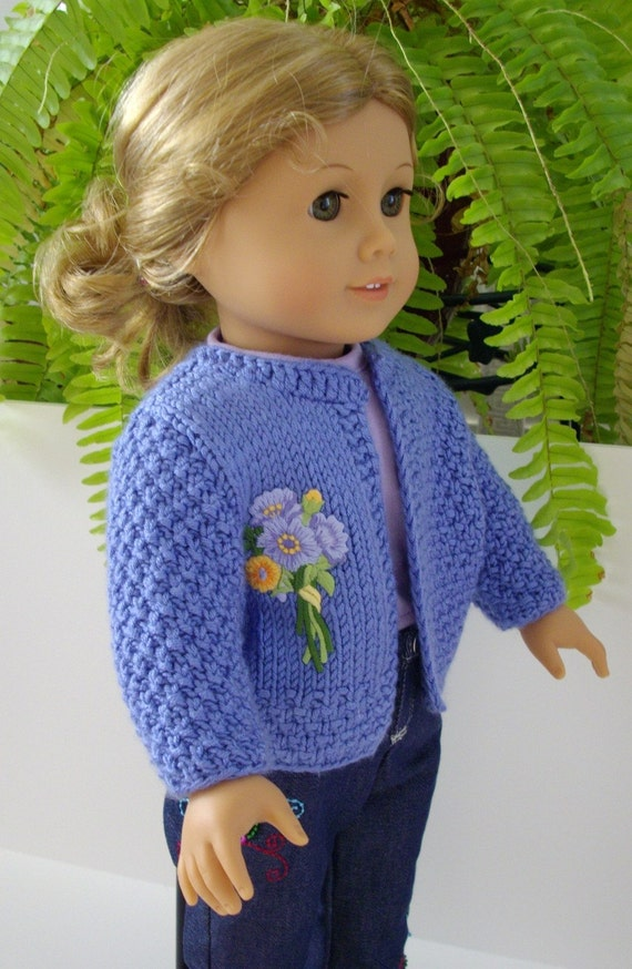 Knitting Patterns For Ag Dolls : Items similar to Knitting Pattern American Girl Doll 18