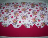 Strawberry Shortcake Window Valance