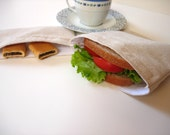 Eco Friendly Reusable Sandwich and Snack Bag Set