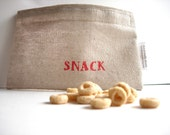 SNACK Eco Friendly Reusable Snack Bag