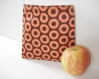 Reusable Sandwich Bag with 2 colored circles