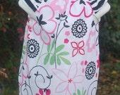 Zebra flower dress