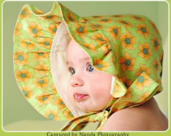 Baby Bonnet, Baby Sun Hat, Sun Bonnet, Baby Sun Bonnet, Summer Bonnet, Toddler Bonnet, Baby Hat, Baby Girl Bonnet, Handmade Bonnet, Infant