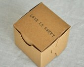 20 x Love is Sweet, no.1 favor box