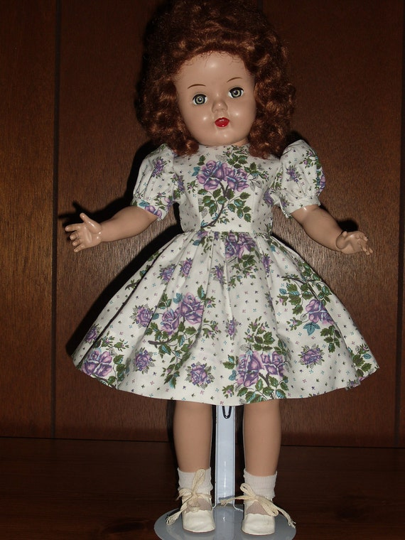 "RESERVED......Dress/attached Slip and Panties for 20"" Raving Beauty or Sweet Sue Doll"