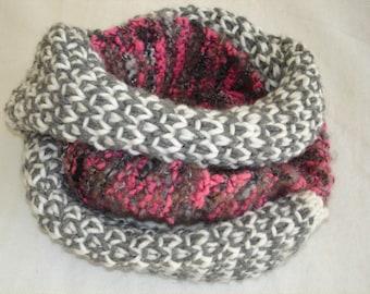 Knitting PATTERN- Infinity Scarf 2 PDF