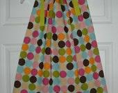Colorful Polka Dot Pillowcase Dress Sizes 3M-6M-12M-2T-3T-4T-5T