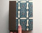Blue Kimono Handbound Sketchbook / Notebook