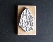 Crystal Configuration 21 - Hand Carved Stamp