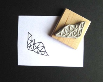 Crystal Configuration 38 - Hand Carved Stamp