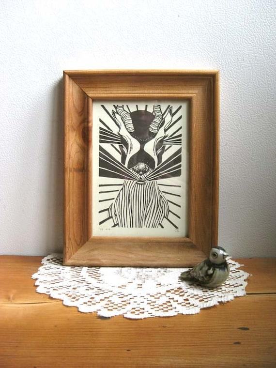 Antelope Rays - Original Print