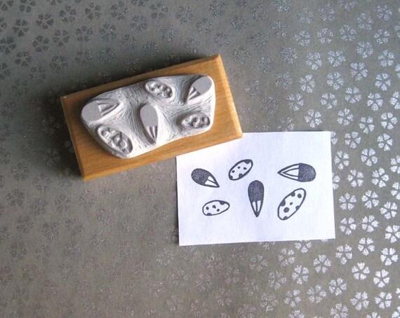 Little Seeds Hand Carved Stamp