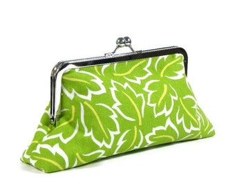 KEIRA - SWD Classic Day Clutch - Lime