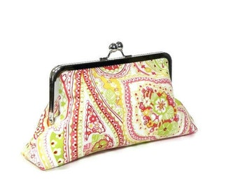 SUGAR BABY - SWD Classic Day Clutch - Watermelon Lemon Lime