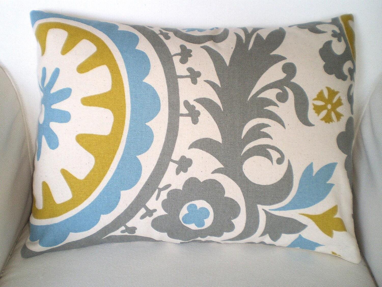 Lumbar Pillow Decorative Throw Pillows Cushion Covers Gray