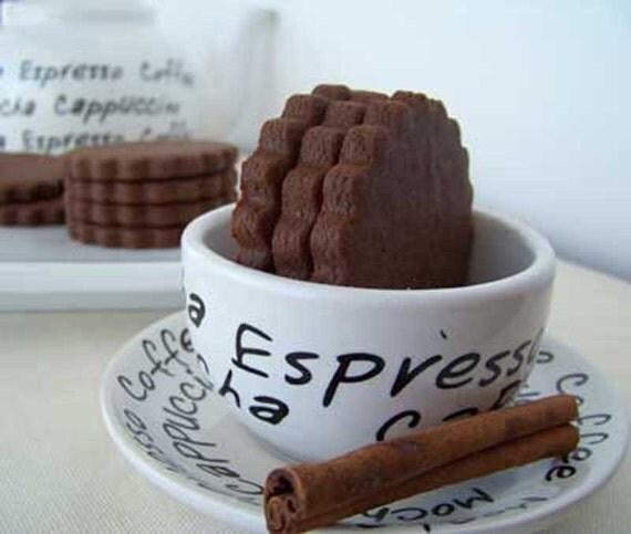 Mayan Chocolate Shortbread