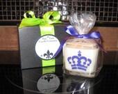 12 oz Soy Cube - Mardi Gras - Lavender Vanilla