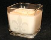Fleur de Lis Soy Cube Candle - Any Scent