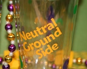 Neutral Ground Side Tumbler with Lid/Straw