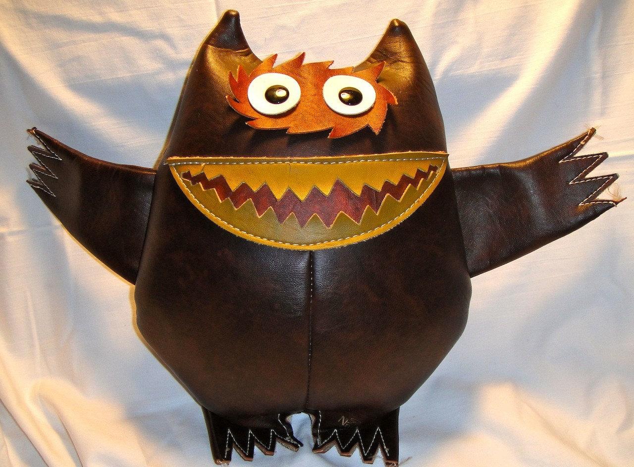 1960s Original Nauga Monster Rare Collectible Naugahyde Doll