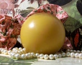Beeswax Ball Pillar Candle 3""